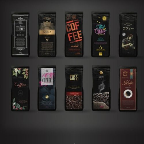 Coffee Label Mock Designs